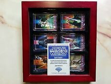 STAR WARS DARK EMPIRE 6 SIGNED METAL CARDS IN DISPLAY CASE METALLIC IMPRESSIONS