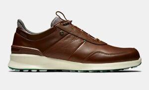 FootJoy Stratos Golf Shoe brown/white - FREE P&P