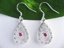 Zircon Drop/Dangle Fine Earrings