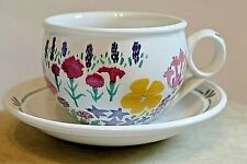 PORTMEIRION HIDCOTE PATTERN ~  National Trust ~ Julie Depledge ~ CUP & SAUCER