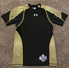 Under Armour Fitted Short Sleeve Nfl Combine Shirt Adult Size Small S