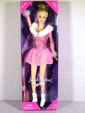NIB BARBIE DOLL 1998 JEWEL SKATING