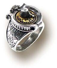 Alchemy Gothic Ring GMT Gender Gauge Steampunk Größe: N (14/54)
