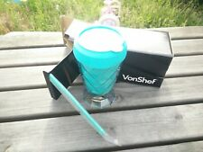VonShef Super Slushy Maker Cup Frozen Ice Drink Maker Slushie No Ice, No Blender