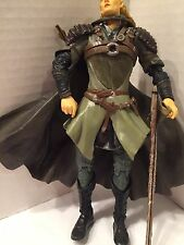 "2004 Lord Of The Rings ToyBiz Action Fig 7.5"" Legolas Helms Deep Two Towers #27"
