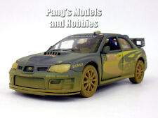 Subaru 2007 Impreza WRC 1/36 Scale Diecast Model by Kinsmart - BLUE/MUDDY