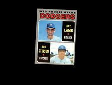 1970 Topps 131 Rookie Stars Ray Lamb/Bob Stinson RC EX-MT #D654447