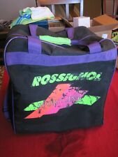 Rossignol Ski Boot Zippered Carry Bag with Shoulder Straps Preowned