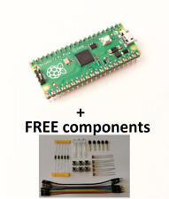 Raspberry Pico with presoldered headers and FREE basic components