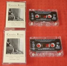 CAROLE KING - CASSETTE TAPE X 2 - NATURAL WOMAN - ODE COLLECTION (BEST OF/HITS)
