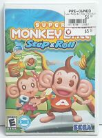 Super Monkey Ball: Step & Roll (Nintendo Wii, 2010) - Complete.
