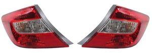 Left & Right Genuine Tail Lights Brake Lamps Pair Set For Honda Civic LX GX DX