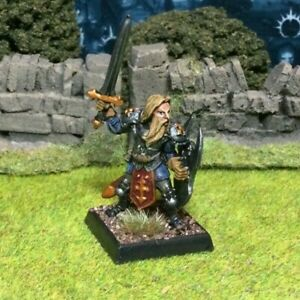 Beautifully Painted Metal Fighter Warrior Miniature - Frostgrave D&D RPG #2