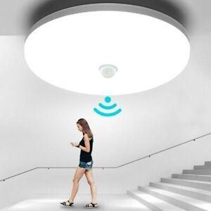 LED Deckenlampe mit Bewegungsmelder Sensor 18w LED Deckenleuchte Flurlampe Lampe