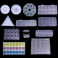 Aufbewahrungsdosen Organizer Container Storage Clear Nail Decorations Box Case