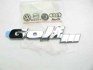 NEW - OEM VW Audi 1HM853687ABGX2 Tailgate Hatch Emblem 1994-1996 Golf