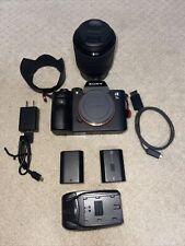 Sony Alpha A7 III 24.2MP Digital Camera - Black - streamer Bundle W/cam link 4K!