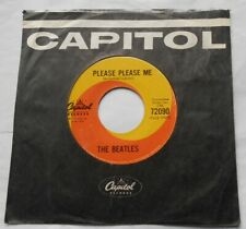 CANADA!!! THE BEATLES Please Please Me ORIG 1964 Capitol 72090 45 Ask me Why