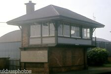 Carrickfergus Signal box 1986 Northern Ireland Rail Photo