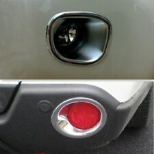 Chrome Front + Rear Fog Light lamp Bezel cover For Nissan X-Trail T31 2007- 2010