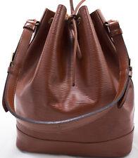 Louis Vuitton EPI NOE Schoulder Bag Schulter Tasche Grand  Braun Brown Gross