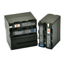 DSTE 3x NP-F930 NP-F950 NP-F970 Battery for Sony CCD-TR200 CCD-TR300 SC55 YN1200
