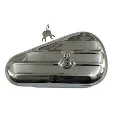 Werkzeugbox, Toolbox Teardrop Chrom rechts abschließbar, für Harley - Davidson