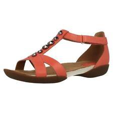 Clarks T Bars Wide (E) Sandals & Beach Shoes for Women