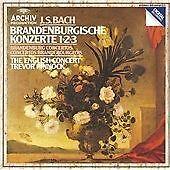 Johann Sebastian Bach - Bach: Brandenburg Concertos Nos. 1-3 (CD 1983)