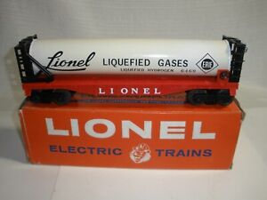 Lionel Liquified Gas Tank Car 6469