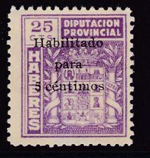 ESPAÑA - GUERRA CIVIL - CADIZ - DIPUTACION PROVINCIAL -  EDIFIL 82