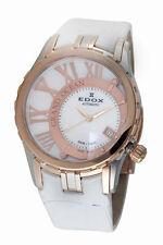 Swiss Made EDOX Grand Ocean Automatic MOP Dial Ladies Watch 37008-357R-NAIR