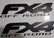 fx4 off road decal black matte, sport chome truck ford( SET)