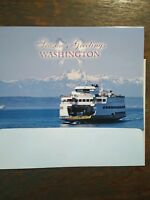 SEASON'S GREETING CARDS FROM OUR WASHINGTON STATE FERRIES SET OF 2 SEATTLE WA