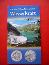 5 € Österreich 2003 HGH - SILBER - Wasserkraft