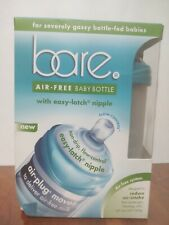 Bare Polypropylene Air Free Bottle Set with Perfe Latch Nipples Turquoise 8 oz