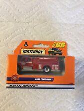 1998- Matchbox #66 - Fire Flooder- NIB