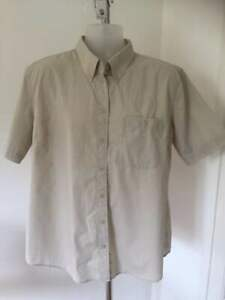 ADULT SCOUT LEADER SHIRT SHORT SLEEVE STONE SIZE XL
