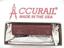 HO ACCURAIL Grand Rapids & Indiana 50' Furniture Sliding Door Boxcar Kit NEW
