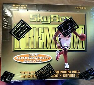 1996-97 Skybox Premium Series 2 Basketball Box Kobe Bryant Michael Jordan 🏀🏆