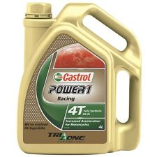 Castrol Power 1 Racing 5W40 full synthetic four-stroke engine oil 4-litre