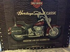 Franklin Mint Harley Davidson Heritage Softail Classic Die Cast Assembly kit