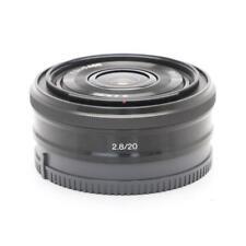 Sony SEL 20mm f/2.8 Lens for E