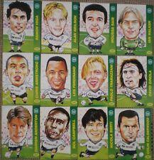 Tottenham promatch carte di calcio 99 SERIE 4 PRO MATCH FIGURINE X 12