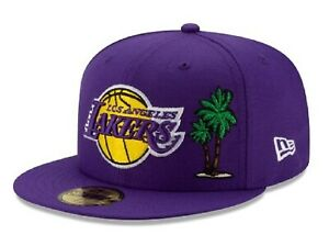 Official NBA Los Angeles Lakers Local Icon New Era 59FIFTY Fitted Hat