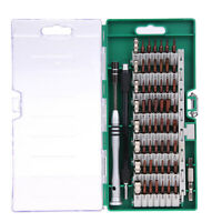 60 In 1 Precision Torx Screwdriver Bit Set Hex Star Tweezer Repair Mini Tool Kit