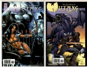THE NINE RINGS OF WU-TANG AN INTRODUCTION #1 + #1 VARIANT VF/NM CONDITION