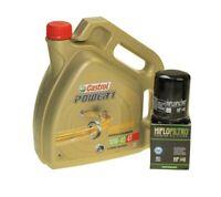 Öl Wechsel Set 4l Castrol 10W-40 mit Ölfilter HF148 für TGB Blade 425 Bj.09-11