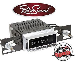 """Retro Sound """"San Diego"""" Digital Radio Oldtimer DAB+/USB/BT/AUX Mercedes,Opel,VW"""