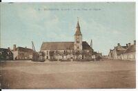 CPA -78 - BOURDONNE - La Place de l'Eglise
